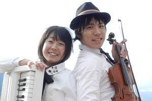ヴァイオリンとピアノのデュオ ORANGEコンサート~ORANGE~ @ 熊本市 東部公民館