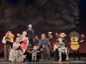 熊本子ども劇場創立50周年プレ企画  チト    みどりのゆびをもつ少年~人形劇団むすび座 @ 熊本県立劇場 演劇ホール